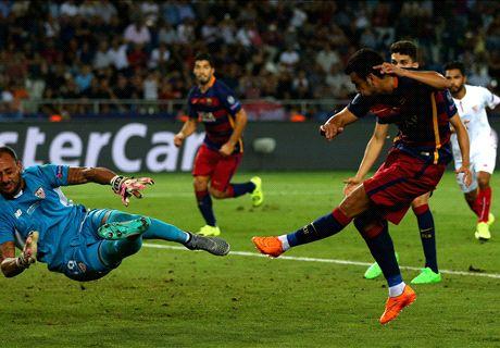 Barcelona 4 - 4 Sevilla (Siêu cúp Châu Âu 2015, vòng )