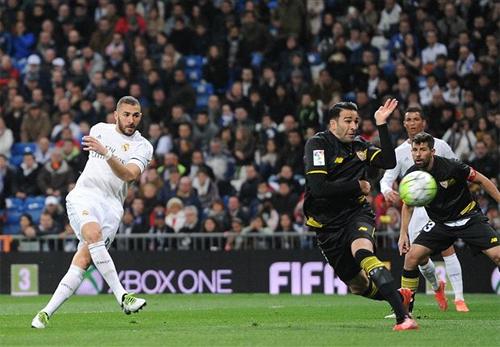 Real Madrid 4 - 0 Sevilla (Tây Ban Nha 2015-2016, vòng 30)