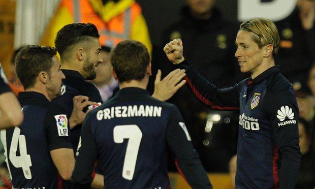 Valencia 1 - 3 Atletico Madrid (Tây Ban Nha 2015-2016, vòng 28)