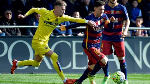 Villarreal 2 - 2 Barcelona (Tây Ban Nha 2015-2016, vòng 30)