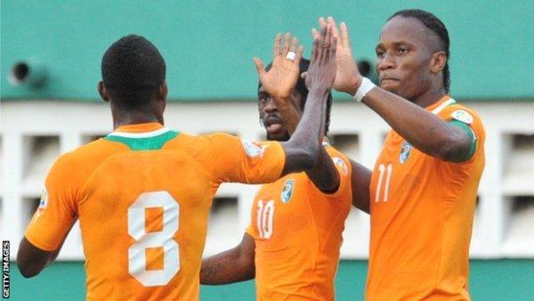 Senegal 1 - 1 Bờ Biển Ngà (VL World Cup 2014 (Châu Phi) 2011-2013, vòng chung kết)