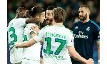 Wolfsburg 2 - 0 Real Madrid (Cúp C1 Champions League 2015-2016, vòng )