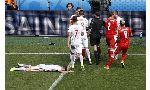Thụy Sỹ 1 - 1 Ba Lan (Euro 2016, vòng )